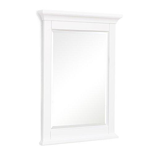 Kitchen Bath Collection Newport Wall Mirror (White)