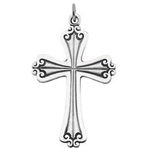 Blessing Cross Sterling Silver Pendant