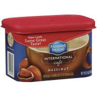 Maxwell House International Cafe Hazelnut (434870) 9 oz (Pack of 8) -