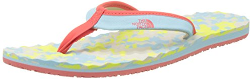 The North Face Base Camp Mini, Chanclas para Mujer Azul (Stripe Blue)