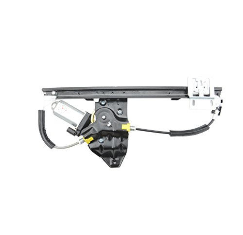 Rear Left Driver Side Window Regulator with Motor for Land Rover Freelander ()