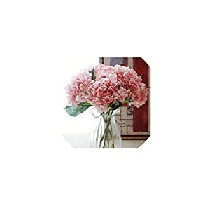 Brittany-Breanna Artificial Hydrangea Flower Plastic Wedding Supplies DIY Home Decoration for Birthday Party Festival 106