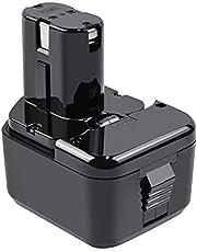 Tecmana 12V 4000mAh accu compatibel met Hitachi EB1212S EB1214L EB1214S EB1220BL EB1220HS EB122HL EB1226HL EB1230HL BCC1212