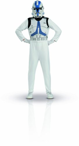 Star Wars Clone Trooper Action Suit, Size 8 to 10