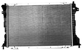 TYC 2157 Ford/Lincoln 1-Row Plastic Aluminum Replacement Radiator