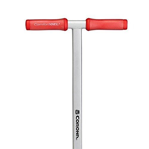 Red Grey Corona LG 3604 Aerator with ComfortGel Handles
