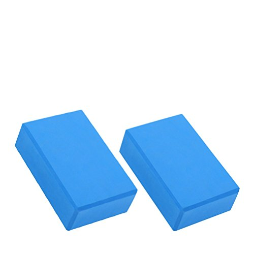 WINOMO Yoga Block Pilates Foam Yoga Brick Sports Exercise Fitness Stretching Aid 2pcs by WINOMO