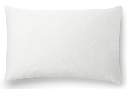 Red Nomad - Queen Size, Ultra Premium Shredded Memory Foam Pillow with Bamboo Hypoallergenic Removable Cover - Breathable Cool Cycle Technology for Maximum Circulation & Comfort - Made in the (Medical Memory Foam)