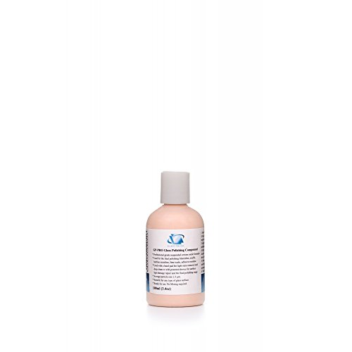 GP14054 GP-PRO Professional Grade Glass Polishing Compound, Glass Polishing Solution - Remover Scratch For Glasses