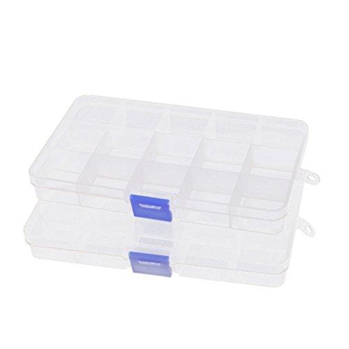 plastic-15-slots-components-jewelry-craft-storage-case-box-2-pcs-clear