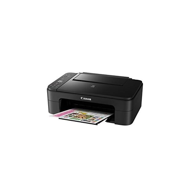 Impresora Multifuncional Canon PIXMA TS3150 Negra Wifi de inyección de tinta 10