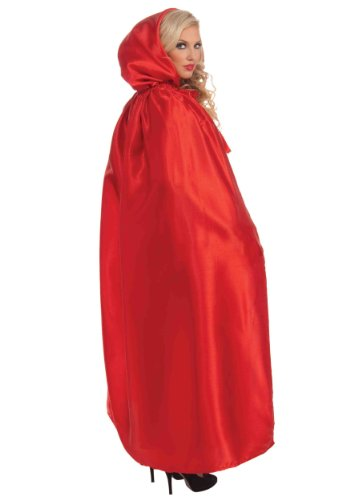 Forum Masquerade Cape, Red, One Size (At Home Halloween Costumes Ideas)