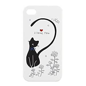LCJ Lovers Protective PVC Case Cover for IPhone4(white) by ruishername