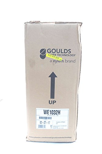 NEW GOULDS WE1032H 2 IN NPT 230V-AC 1HP SUBMERSIBLE PUMP D571451 by Goulds