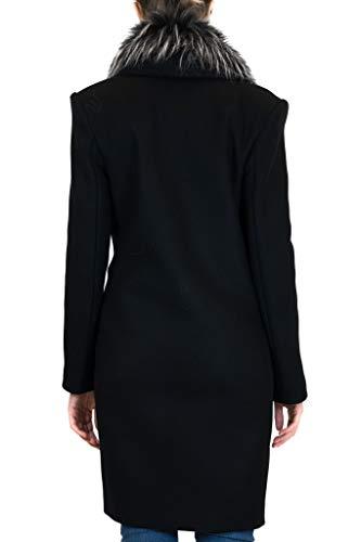 Manteau Laine Franchi Elisabetta Femme Cp00477e2110 Noir xZqYpnBw86