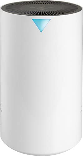 RevitalAir Compact True HEPA 4-in-1 Air Purifier, White