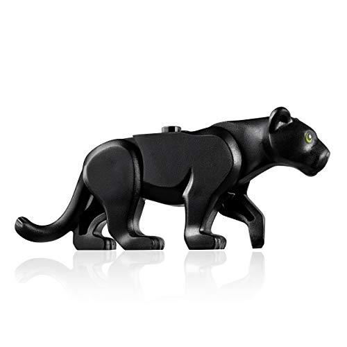 LEGO Jungle Minifigure Animal: Black Panther Jungle Cat - Animal Piece One Jungle