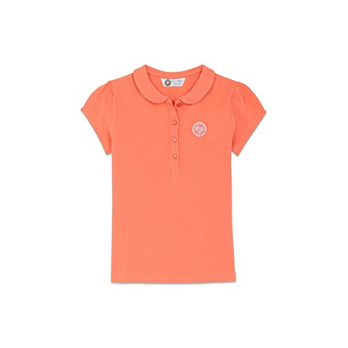 9eb40f3a0b322 ROLAND GARROS Polo piqué Logo Monochrome Fille - Rose  Amazon.fr  Vêtements  et accessoires