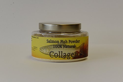 SALCOLL COLLAGEN Marine Collagen - Salmon Collagen for Joint Pain, Rheumatoid Arthritis, Osteoporosis - Aids Tissue, Cartilage & Bone Regeneration to Improve Energy, Mobility & Vitality - 3.69 Oz by Salcoll Collagen