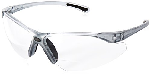 Radians C2-130 Bi-Focal Reading Safety Glasses with Clear 3.