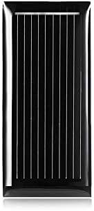 Juan Ni LDTR-WG0069 / G 0,5 V 185 mA 48 x 21 mm Mini-Solarzelle aus polykristallinem Silizium - SCHWARZ