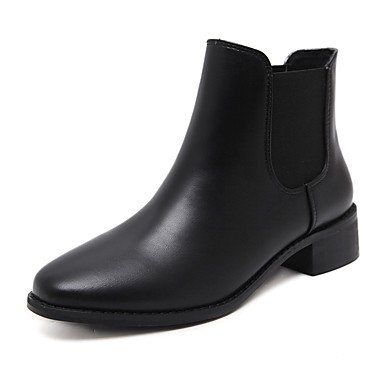 Boots Boots Toe Heel Zipper Pointed Bootie For Boots Shoes RTRY Boots Combat EU39 CN39 Women'S Chunky Fall Winter Booties Fashion Ankle Leatherette US8 UK6 FCwwzq6xv