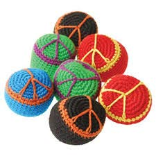 1 Dozen Playgrounds and more mixed Prizes 12 Classrooms Party Favors Fun Peace Sign Hippie Kickball- Comes in assorted colors- Great for Summer Camps