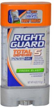 Gel Fresh Blast - Unisex Right Guard Total Defense 5 Power Gel Fresh Blast Deodorant Stick 1 pcs sku# 1789272MA