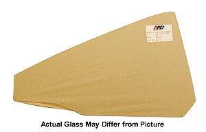 Quarter Glass - Green Tint - RH - 66-67 GM A-Body Coupe