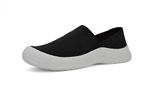 SoftScience Drift Canvas Slip-on,Black Cotton Canvas,US 3 E