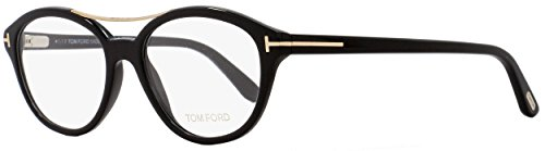 Tom Ford - FT 5412, Geometric, acetate, women, SHINY BLACK(001), - Frame Round Ford Tom Optical