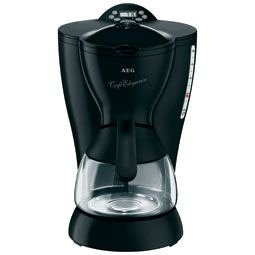 AEG KF 2062 temporizador filtro cafetera eléctrica Negro: Amazon ...