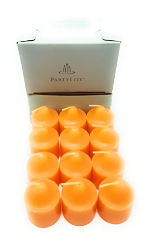 PartyLite Universal Scented Fruit Votives 1 Dozen (Pineapple & Pomegranate) Pineapple Votive