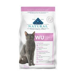 BLUE Natural Veterinary Diet WU Weight Management + Urinary Care For Cats, 6.5 Lb. by Blue Buffalo
