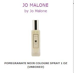JO MALONE by Jo Malone Pomegranate Noir Cologne Spray 1 Oz unboxed