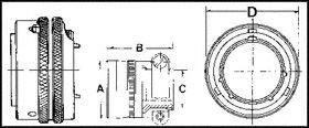 AMPHENOL INDUSTRIAL PT06E16-26P(SR) CIRCULAR CONNECTOR PLUG SIZE 16, 26POS, CABLE