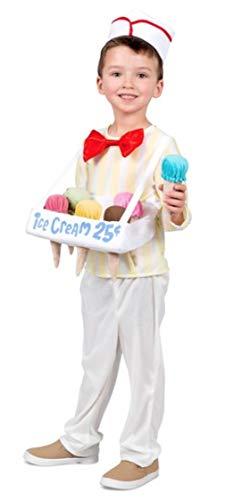 Princess Paradise Ice Cream Cone Salesman Costume, X-Small for $<!--$37.65-->