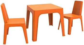 resol Julieta set infantil de 2 sillas y 1 mesa para interior ...