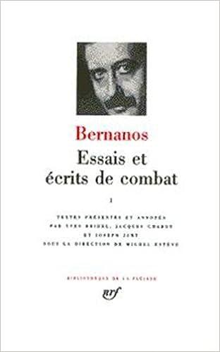 Lire en ligne Bernanos : Essais et écrits de combat, tome 2 pdf