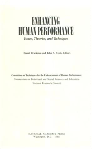 Enhancing human performance : issues, theories, and techniques