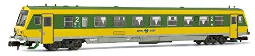 Arnold HN2280-Diesel Triebwagen Range 5047GySEV, Green/Yellow