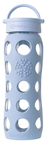 Lifefactory 22-Ounce BPA-Free Beverage Bottle, Sky Blue