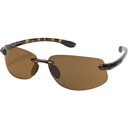 983a1ff9b5 Image Unavailable. Image not available for. Color  Suncloud Optics  Excursion Rimless Frames Polarized Outdoor Sunglasses Eyewear - Tortoise  Brown   One