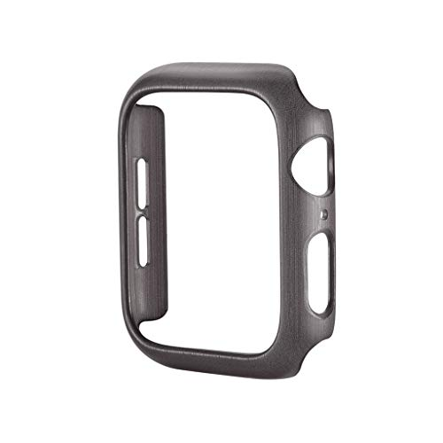 HighlifeS Case for Apple Watch Series 4 Newest Ultra Thin Strips Shape PC Protective Bumper Case Cover for Apple Watch 4 40mm (Gray) by HighlifeS_Apple Watch Case (Image #1)