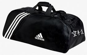 M De Sport 60x30x30 Adidas Cm Karate Blanches Bandes Sac GpqSUzLMV