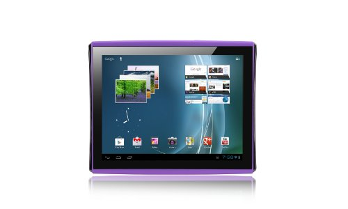 Le Pan 9.7-Inch Multi Touch Screen with Ice Cream Sandwich Tablet, Purple