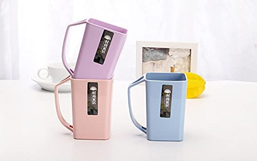 Tandenborstel bekerEenvoudig Badkamer Wasbeker Tandenborstel Opbergdoos Koffie Melk Mode Waterbeker Color Mixing 6511Cm