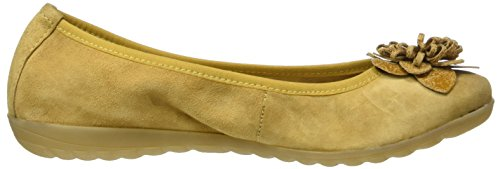 Caprice 22153, Bailarinas para Mujer Amarillo (Saffron Comb)