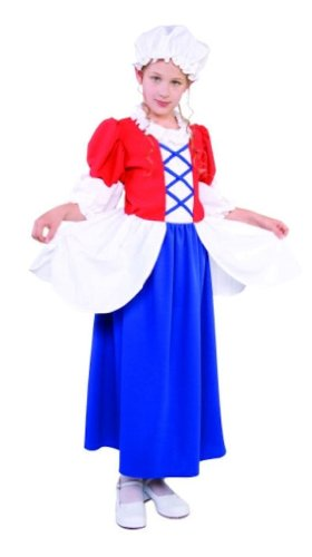 RG Costumes Betsy Ross Costume, Child Medium/Size 8-10 ()