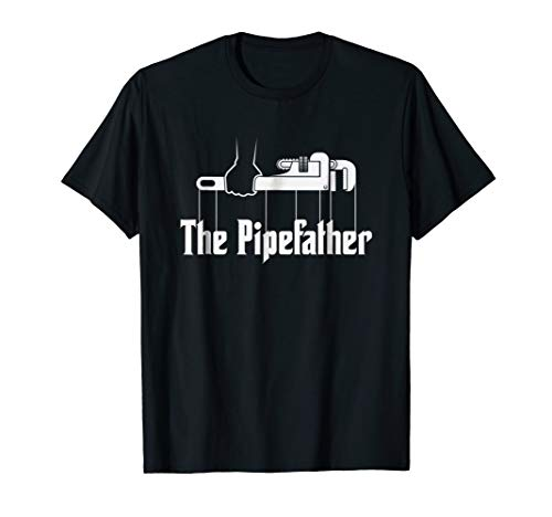 (The Pipefather - Funny plumber plumbing T-Shirt Gift)